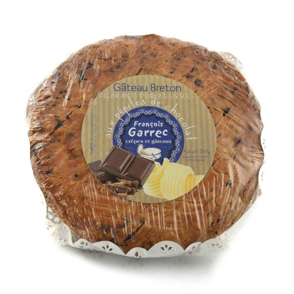 Gâteau breton aux pépites de chocolat