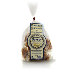 Sachet de caramels au beurre salé 140g