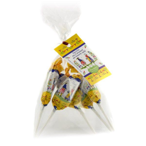 Sucettes au caramel au beurre salé