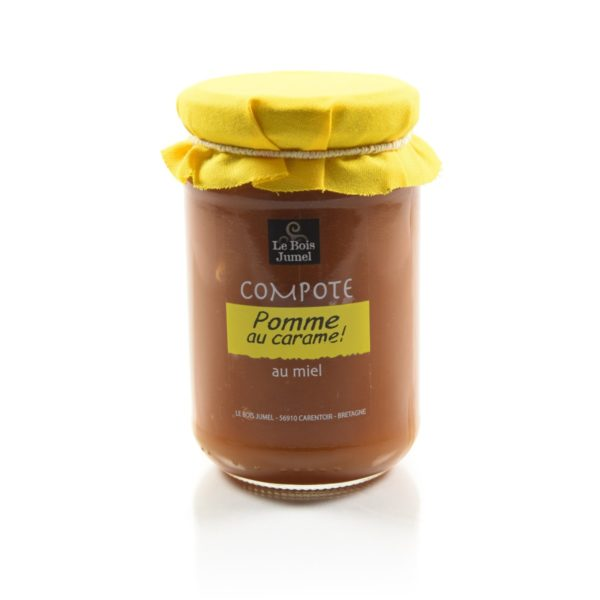Compote pomme caramel