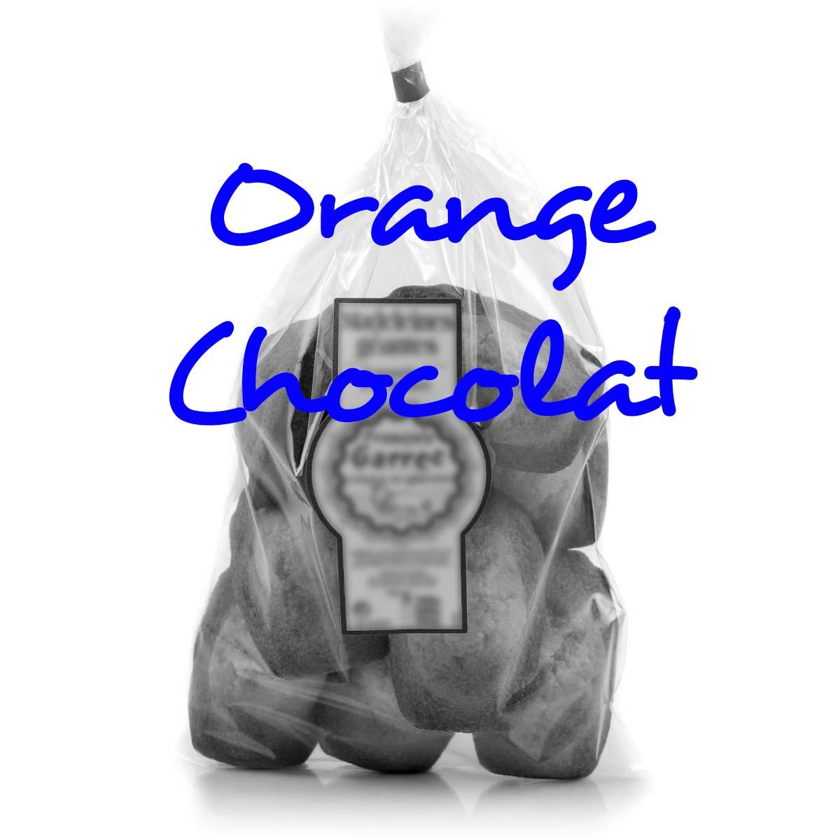 Madeleines Longues Orange Chocolat